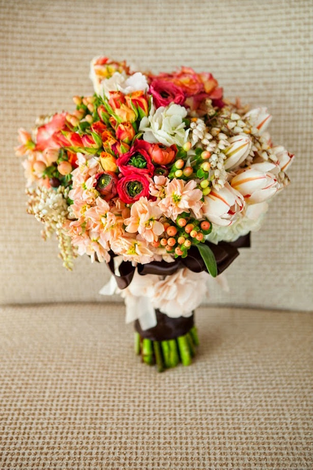 Fall Wedding Bouquet - Julie Irene Photography