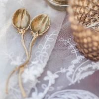 Golden wedding details - Mathew Irving Photography
