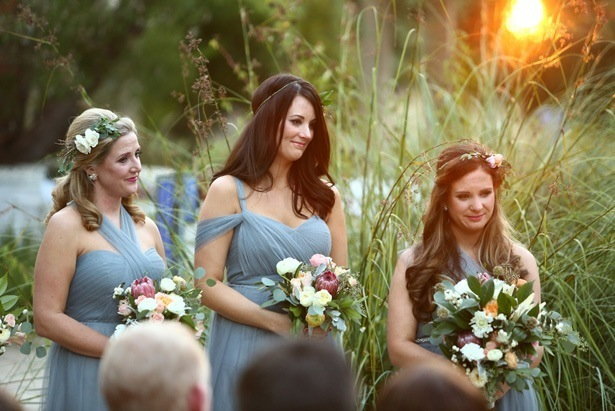 Grey bridesmaids dresses - Hyde Park Photo
