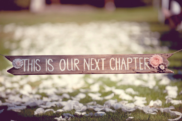 DIY Wedding sign - Suzanne Rothmeyer Photography