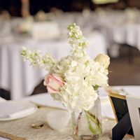 Wedding centerpiece - Suzanne Rothmeyer Photography