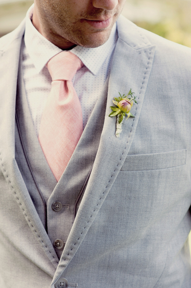 Groom boutonniere - Suzanne Rothmeyer Photography