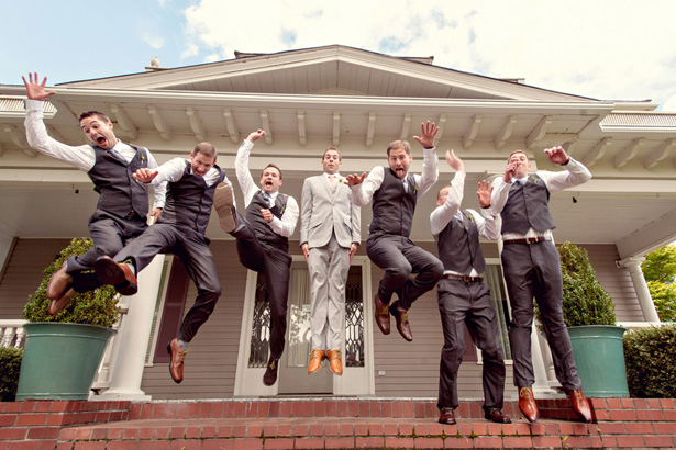 Fun groomsmen photo - Suzanne Rothmeyer Photography