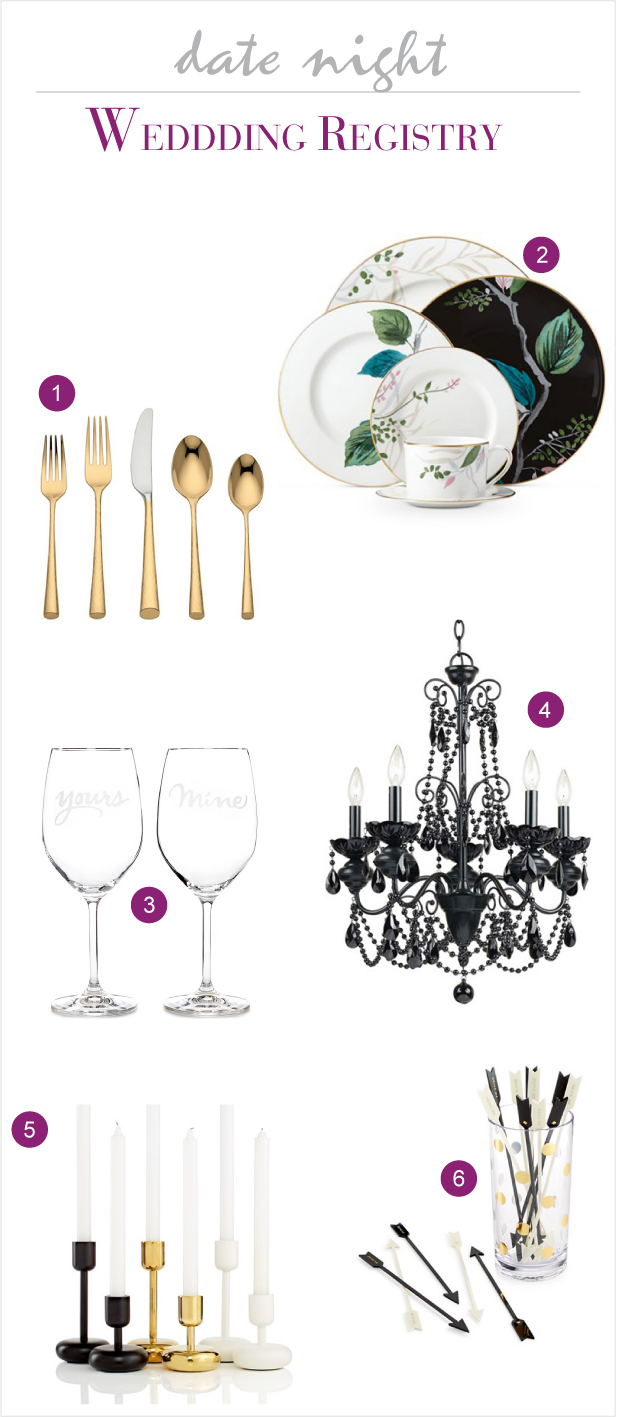 Macy's Wedding Registry for a Date Night