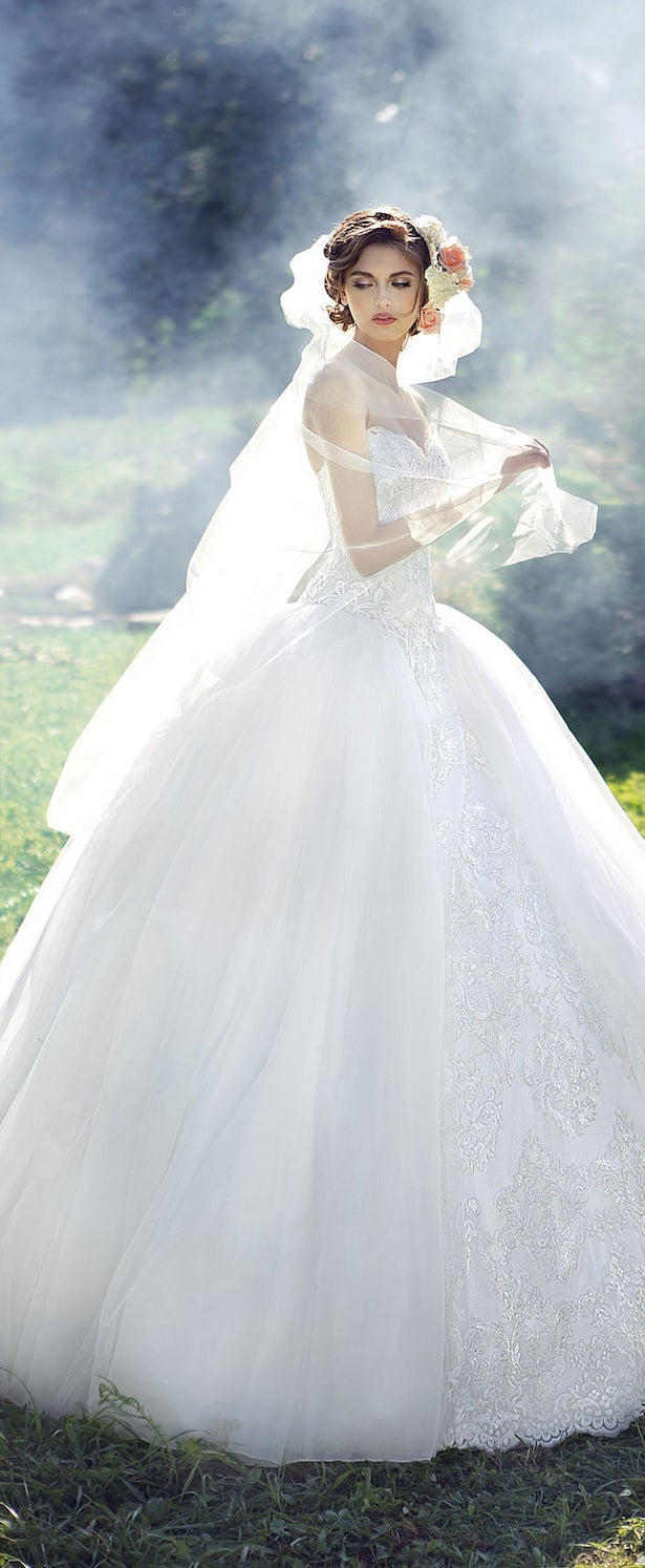 Fairy Fashion Wedding Gowns