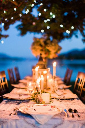 Wedding Tablescape - Sage to Sea Film Photography