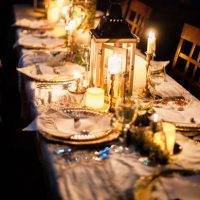 Tablescape - Sage to Sea Film Photography