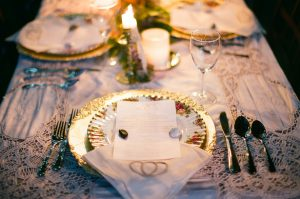 Place setting - Sage to Sea Film Photography