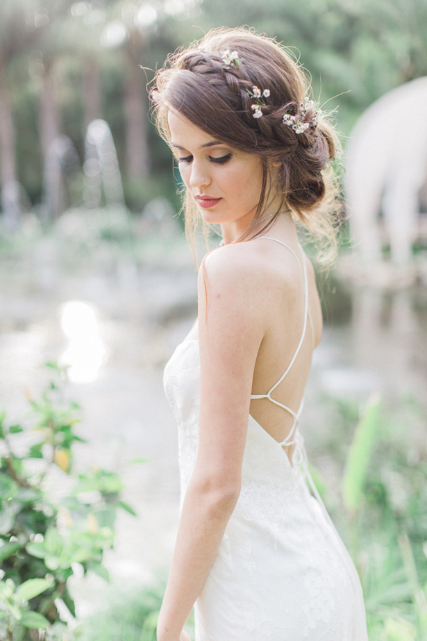 Braided Wedding Hairstyle - Lucas Rossi Photography