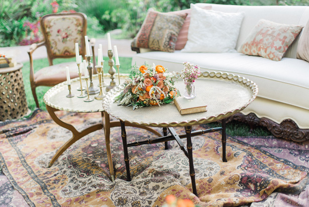 Vintage Wedding Furniture - Lucas Rossi Photography