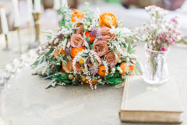 Organic Wedding Bouquet - Lucas Rossi Photography
