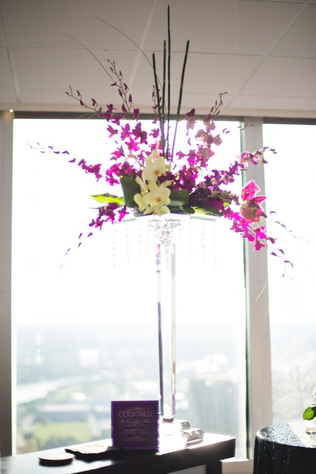 Tall wedding centerpiece - Dauss FOTO