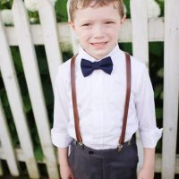 Wedding ring bearer - Justin Wright Photography