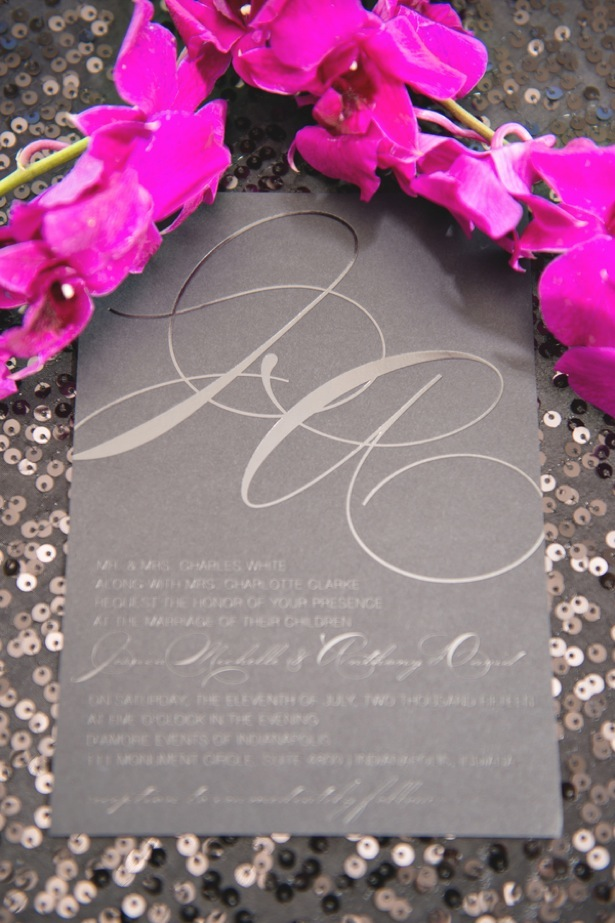 Wedding invitation - Dauss FOTO