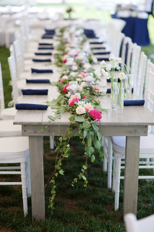 Wedding tablescape - Justin Wright Photography
