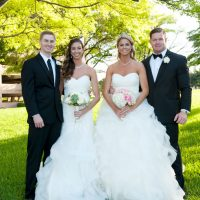 Double wedding portrait - Tamytha Cameron Photography