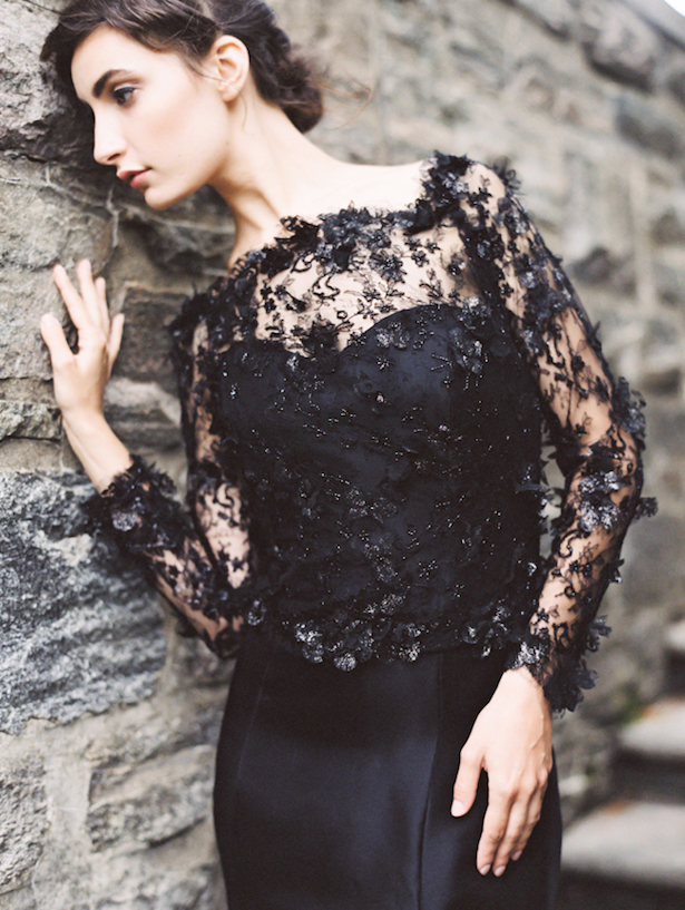 Black Wedding Dress - Sareh Nouri Fall 2015