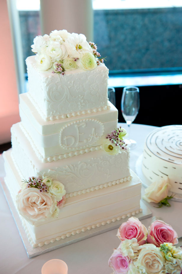 Tall wedding cake - Tamytha Cameron Photography