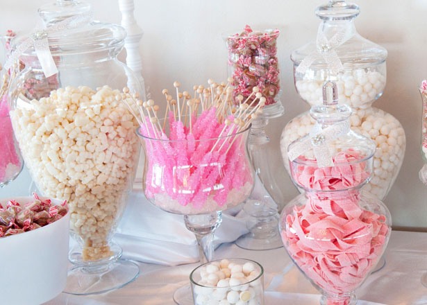 Wedding candy buffet - Tamytha Cameron Photography
