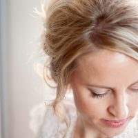 Bridal up do hair style - Mad Chicken Studio