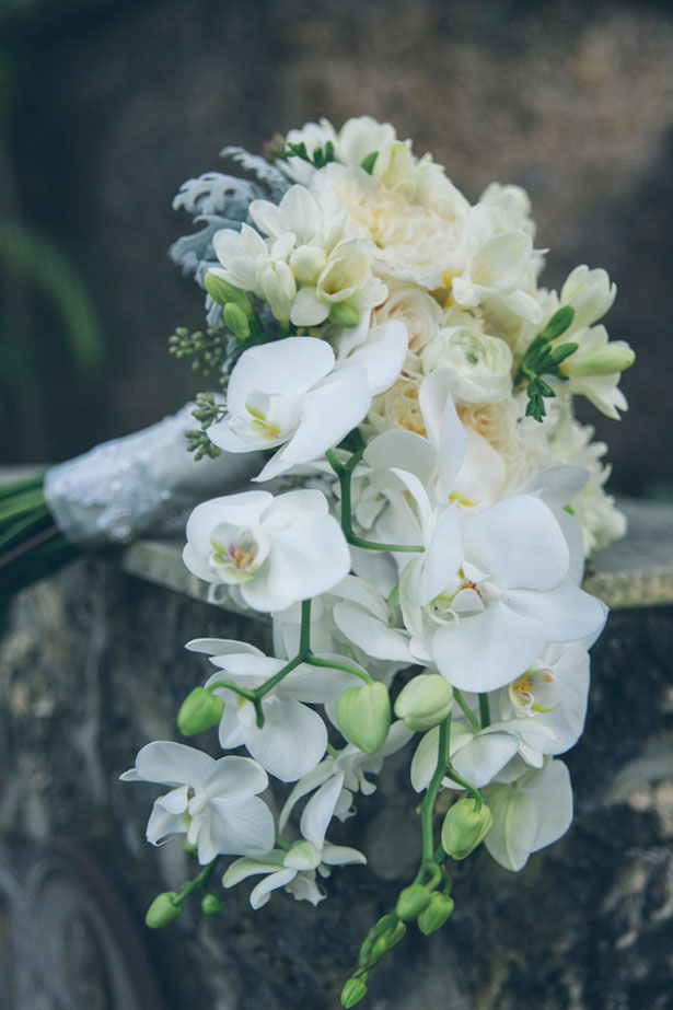 Cascading wedding bouquet - Kane and Social
