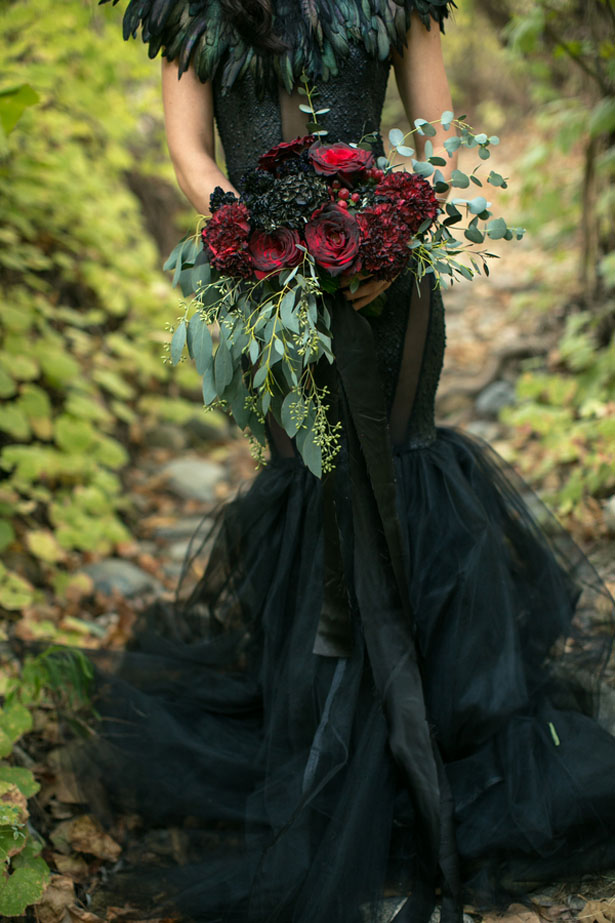 Halloween Wedding Inspiration - Sweet Blooms Photography