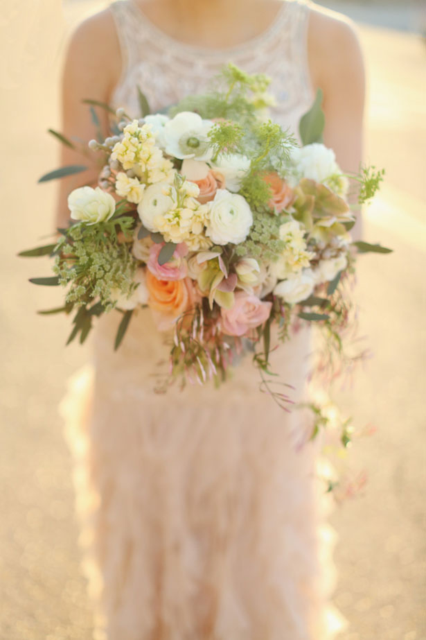 Elegant wedding bouquet - j.woodbery photography