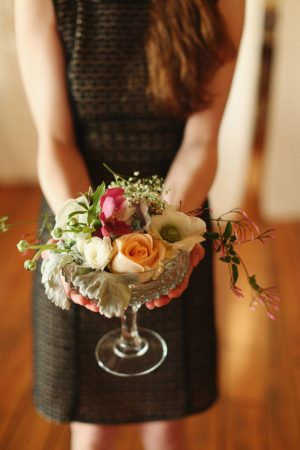 Floral wedding centerpiece 2 - j.woodbery photography
