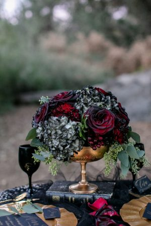 Floral wedding centerpiece - Sweet Blooms Photography