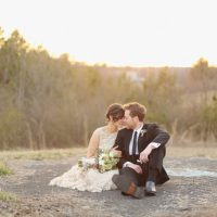Forest wedding photo - j.woodbery photography