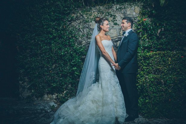 Outdoor wedding portrait - Kane and Social
