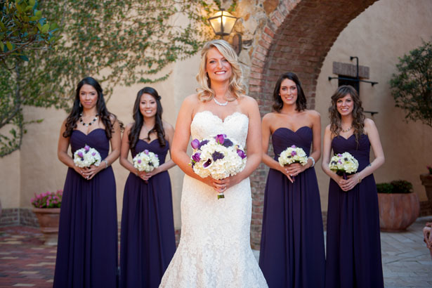 Purple bridesmaid dresses - Life's Highlights