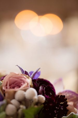 Purple wedding flower - Mad Chicken Studio