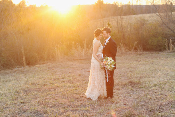 Romantic wedding photo - j.woodbery photography