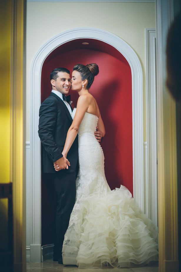 Romantic wedding picture - Kane and Social