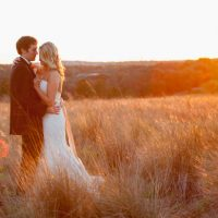 Romantic wedding sunset - Life's Highlights