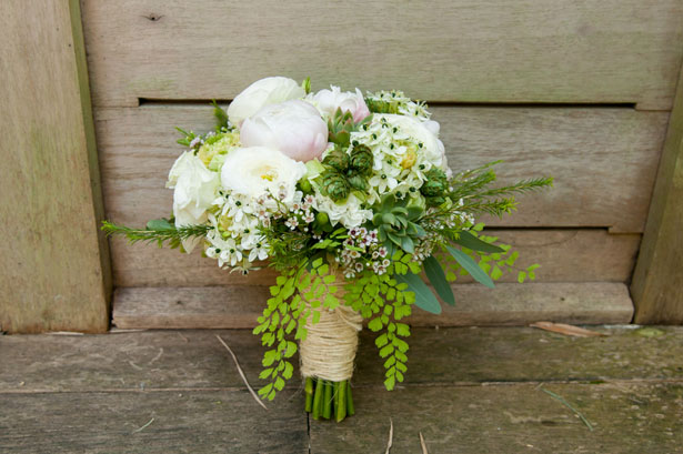 Rustic wedding bouquet - Arte De Vie