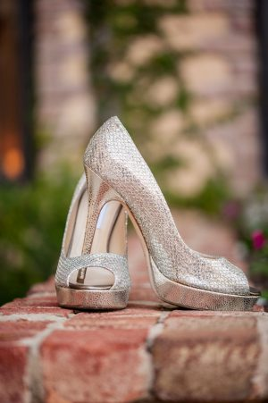 Silver bridal heels - Life's Highlights