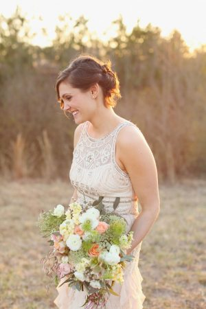 Summer wedding bouquet - j.woodbery photography