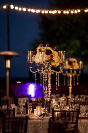 Tall wedding centerpiece - Life's Highlights