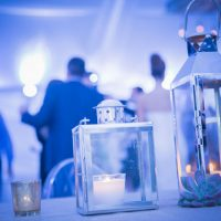wedding candle lamps - Kane and Social
