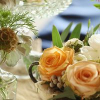 Wedding centerpieces - j.woodbery photography
