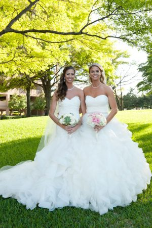 Double wedding in texas belle the magazine wedding dress ideas tamytha cameron photography junglespirit Gallery
