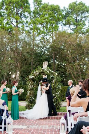 Outdoor wedding ceremony -Arte De Vie
