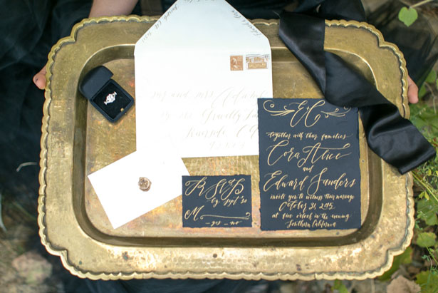 Wedding invitation suite - Sweet Blooms Photography