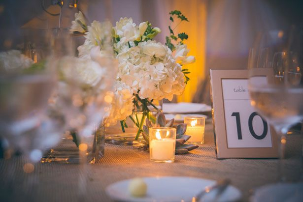 Wedding table numbers - Kane and Social