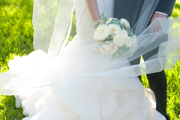 White flower bouquet - Tamytha Cameron Photography
