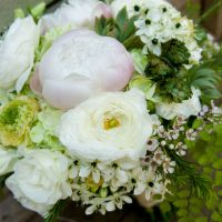 White wedding bouquet - Arte De Vie