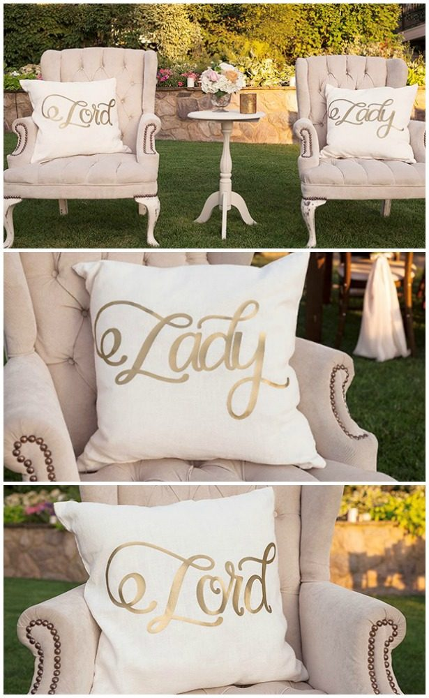 DIY Wedding Projects with Cricut