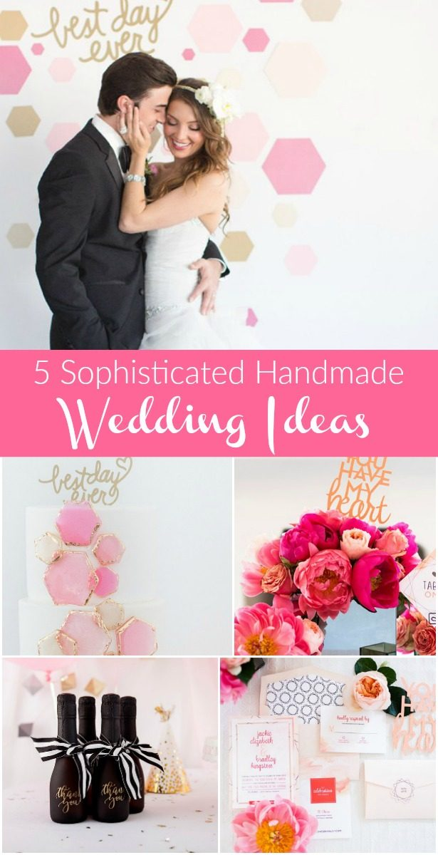 5 Sophisticated Handmade Wedding Ideas You Can Create With Cricut